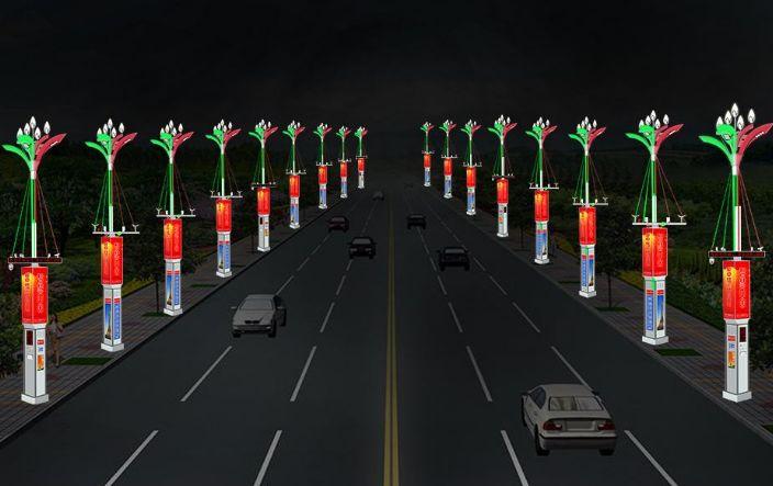 武汉供电公司5G微基站打造智慧路灯汝州